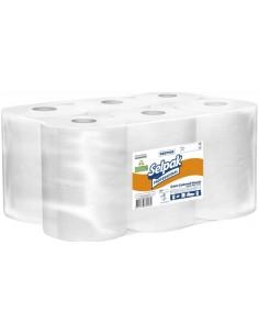 Бумажные полотенца Selpak Professional для автоматического диспенсера двухслойные 135 м, 6 рулонов