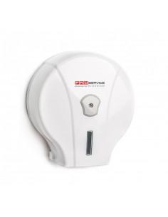 Пластиковый держатель для туалетной бумаги Джамбо PRO Service, белый, 1 шт.