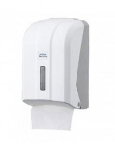 Пластиковый держатель для туалетной бумаги в листах PRO Service, белый, 1 шт.
