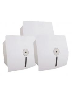 Держатель для туалетной бумаги с центральным извлечением Selpak Professional, белый