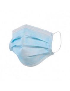 Маска медична одноразова тришарова на резинці, 5 шт./уп. DAS - 1