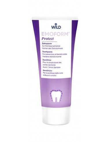 """Зубная паста """"Защита от кариеса"""" Emoform-F Protect Dr.Wild, 75"""
