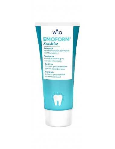Зубна паста для чутливих зубів Dr.Wild Emoform-F, 85 мл