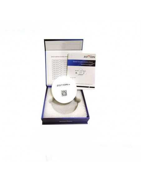 Циркониевый диск ATM 98 мм/18 мм, Zotion для Cad/Cam