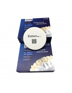Циркониевый диск ATM 98 мм/12 мм, Zotion для Cad/Cam
