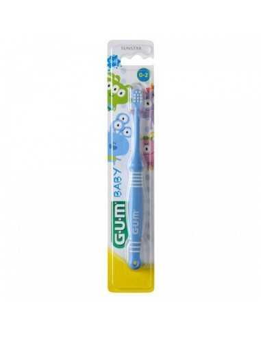 Зубна щітка Gum BABY MONSTER, від 0 до 2 років