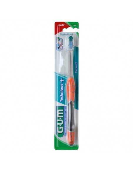 Зубна щітка GUM TECHNIQUE PLUS, повна, середньо-м'яка