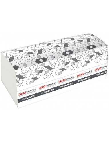 Полотенце бумажное PRO Service Premium, Z-сложенное 2-х слой. 200 шт., белый, цел.