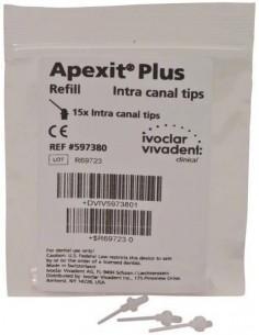 Интраоральные насадки Apexit Plus, 15 шт.